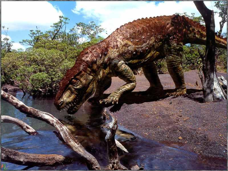 027 pravěk prehistoric dinosaur dinosauři