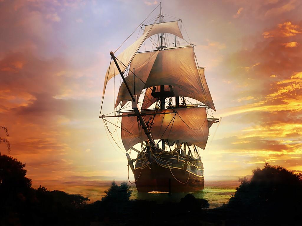 028 lodě - koráby