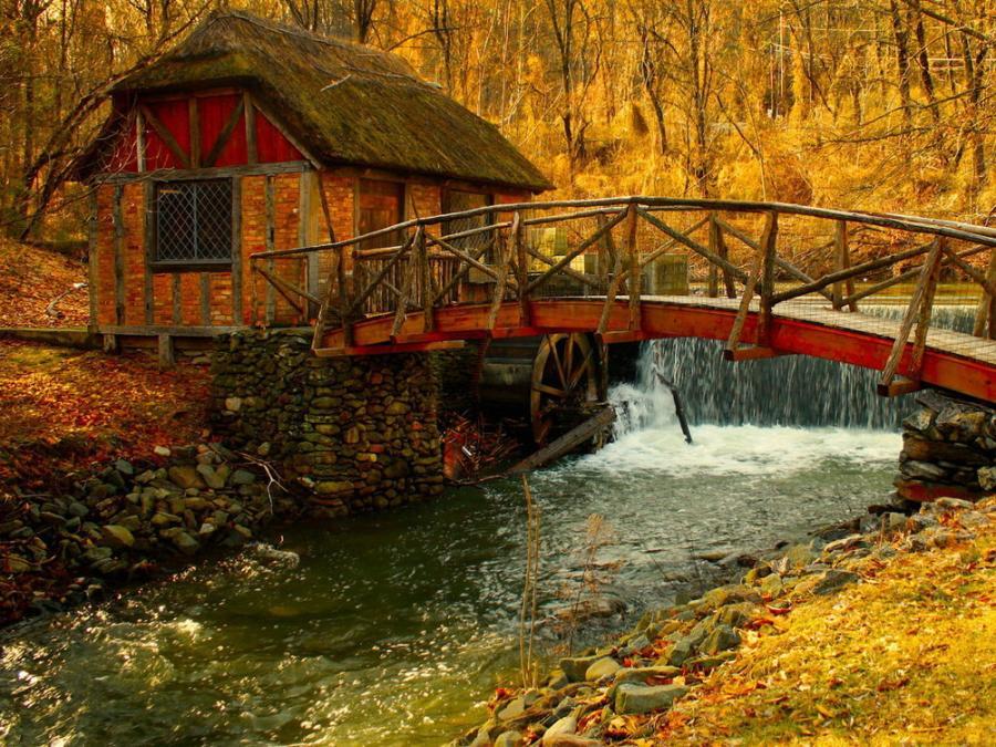 029 staré chalupy - farmy - mlýny