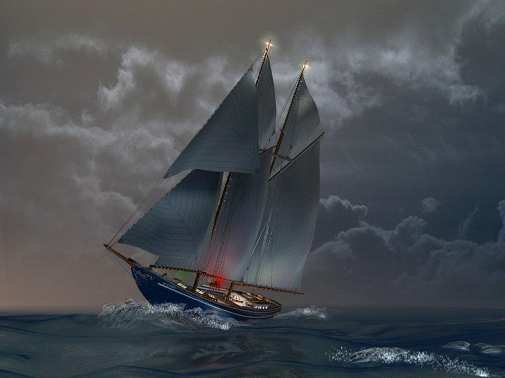031 lodě - plachetnice