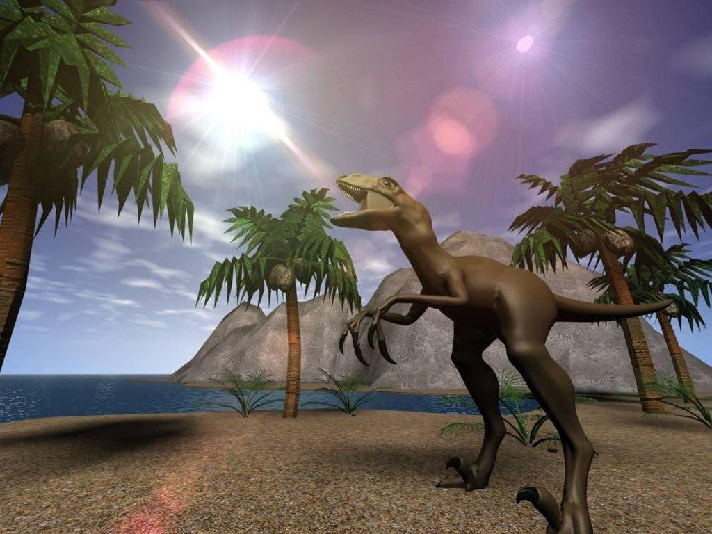 031 pravěk prehistoric dinosaur dinosauři