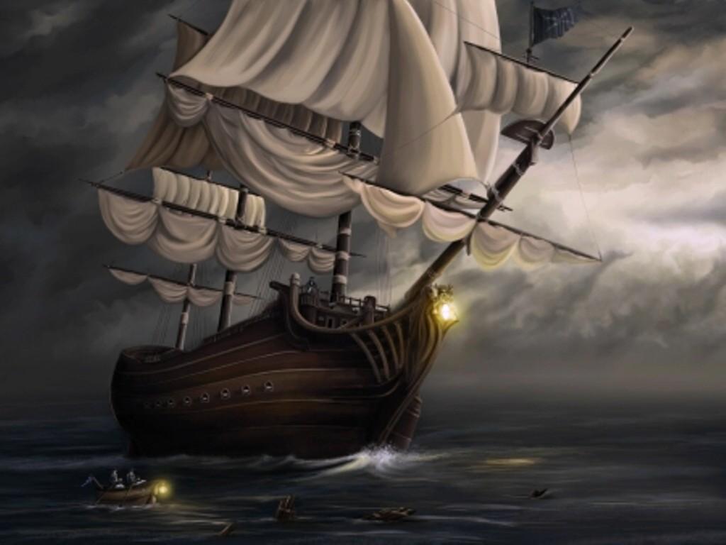 032 lodě - koráby