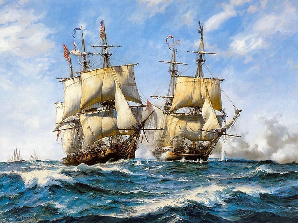 033 lodě - koráby