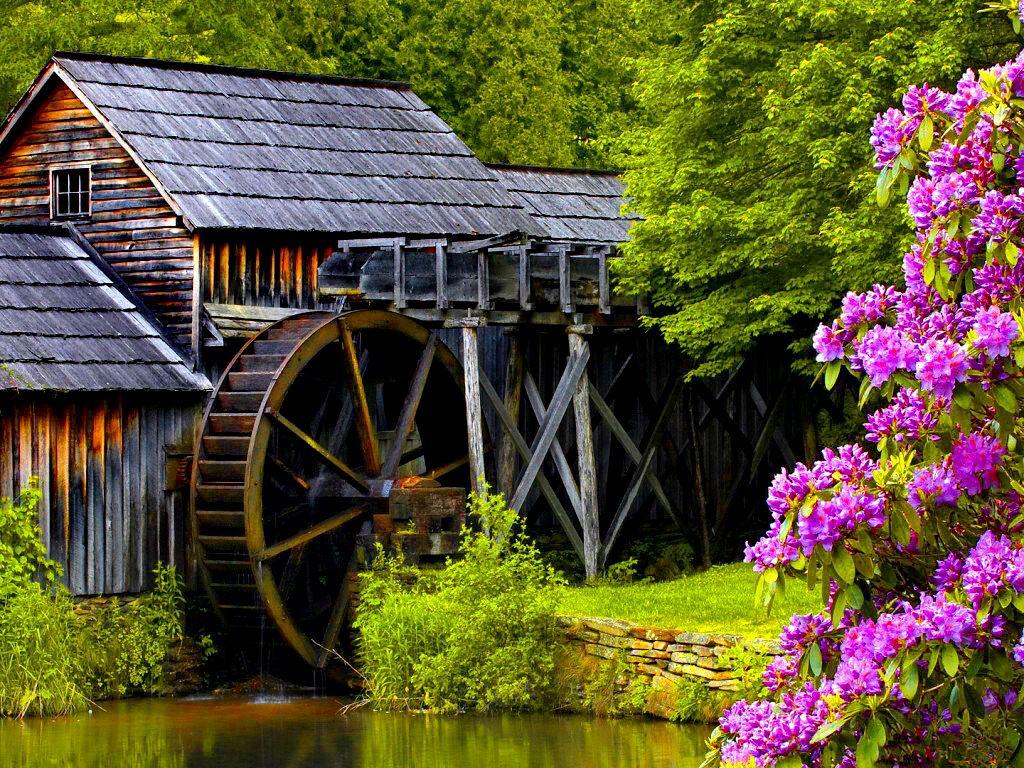 033 staré chalupy - farmy - mlýny