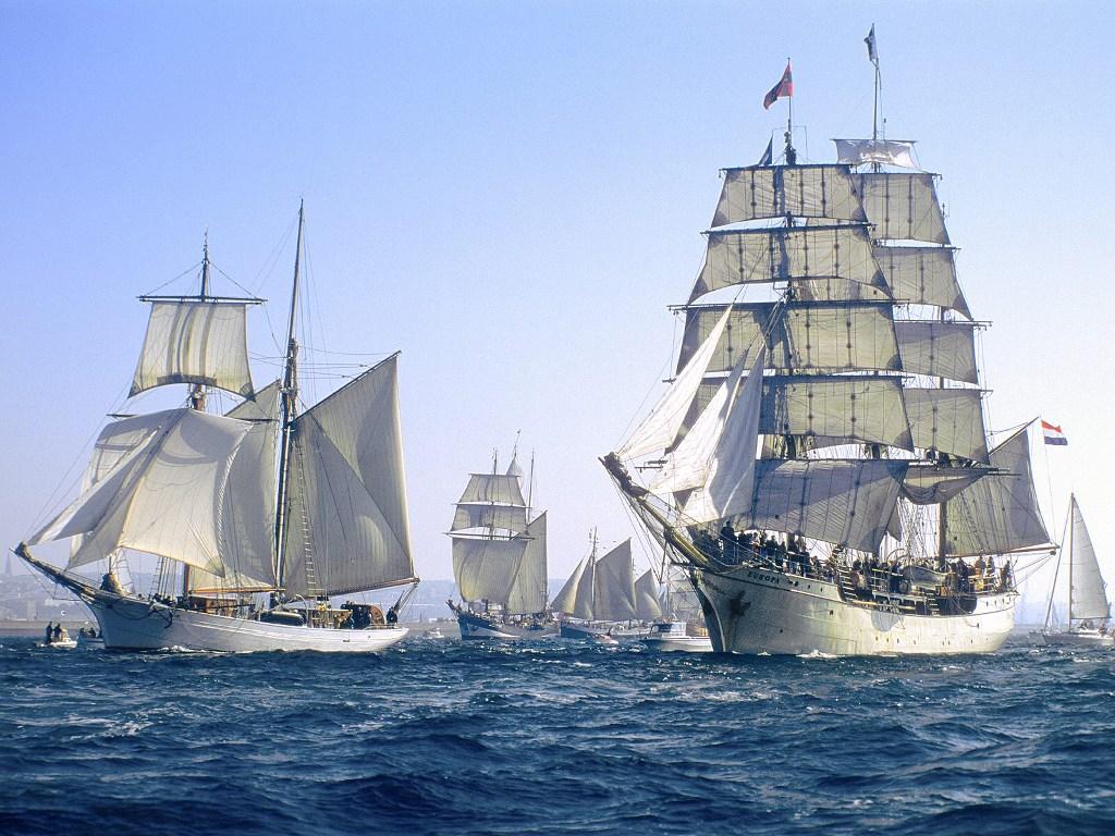 034 lodě - koráby