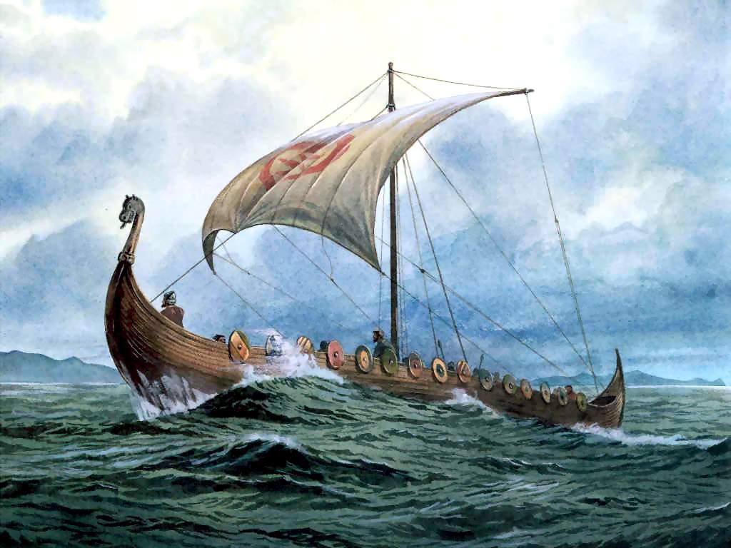 036 lodě - Vikingové