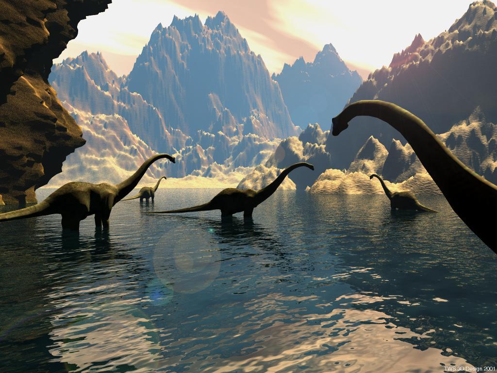037 pravěk prehistoric dinosaur dinosauři