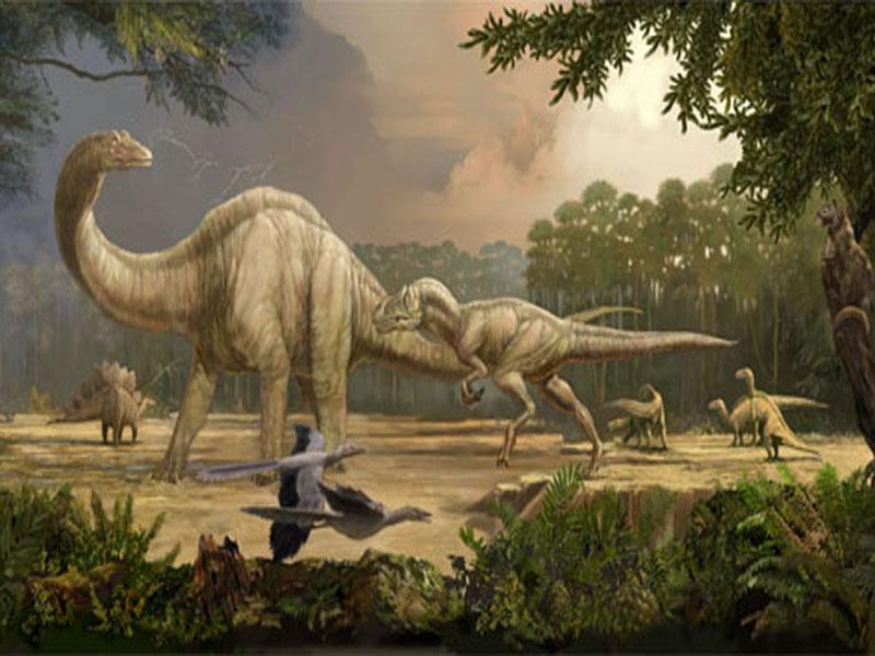 039 pravěk prehistoric dinosaur dinosauři