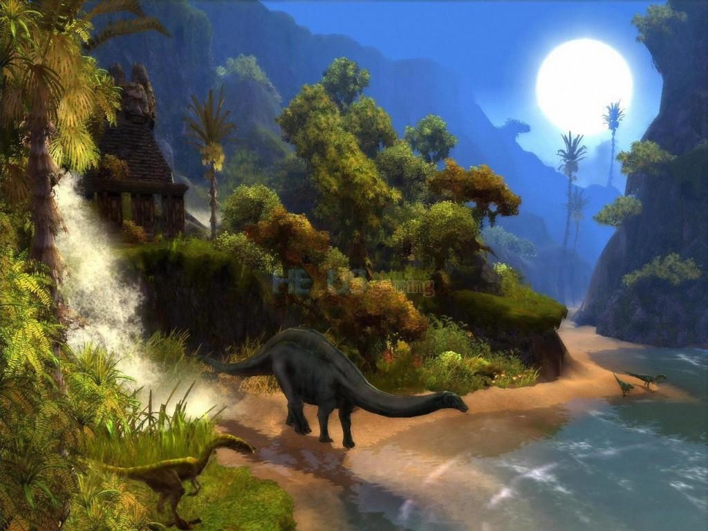 041 pravěk prehistoric dinosaur dinosauři