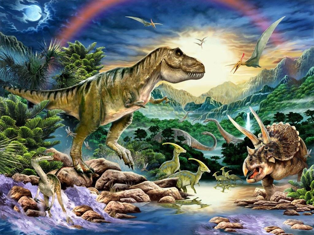 042 pravěk prehistoric dinosaur dinosauři