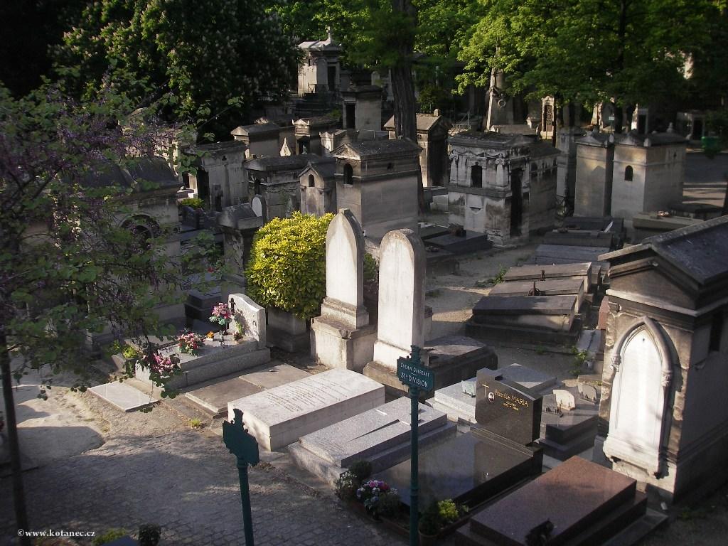 048 Paris - Cimetière du Père Lachaise - Paříž