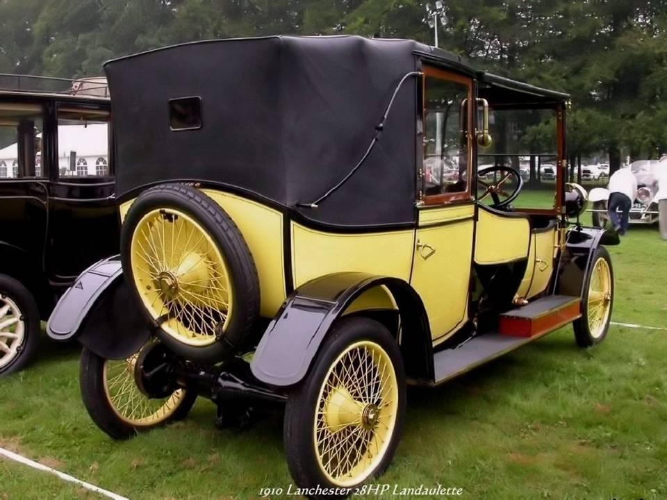 04 - 1910 Lanchester z8HP Landaulette