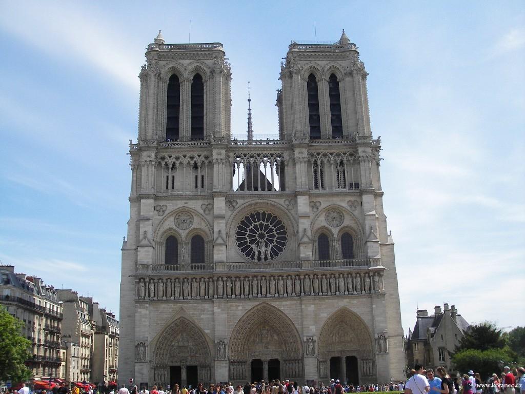 058 Paris - Notre Dame - Paříž