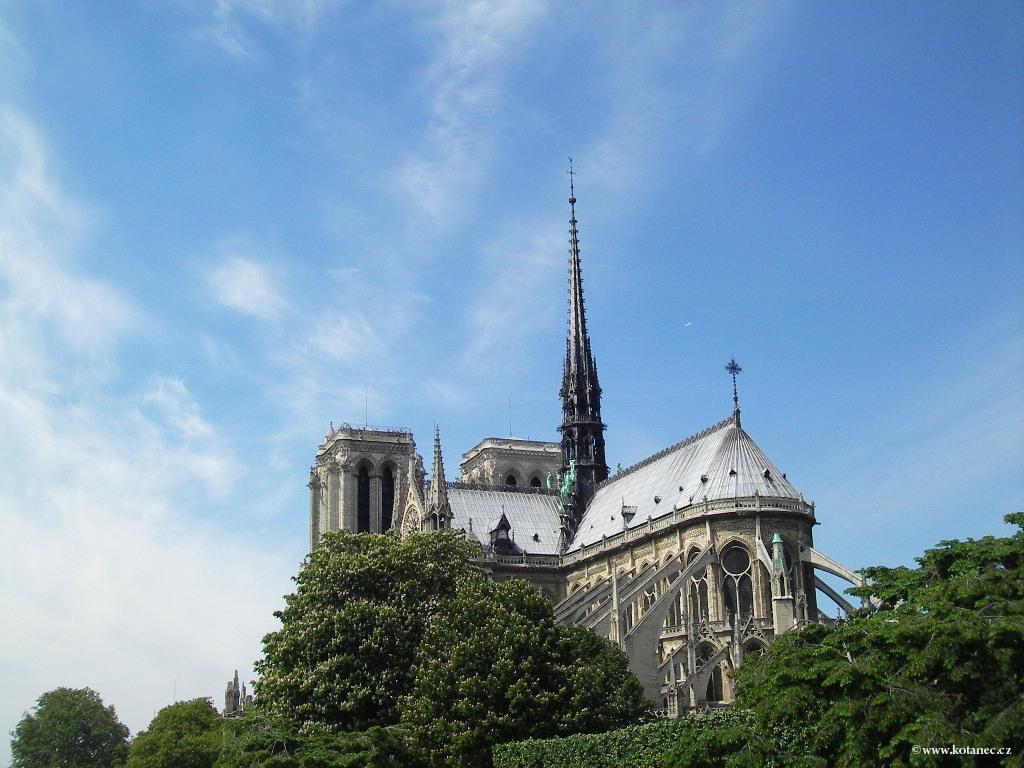 059 Paris - Notre Dame - Paříž