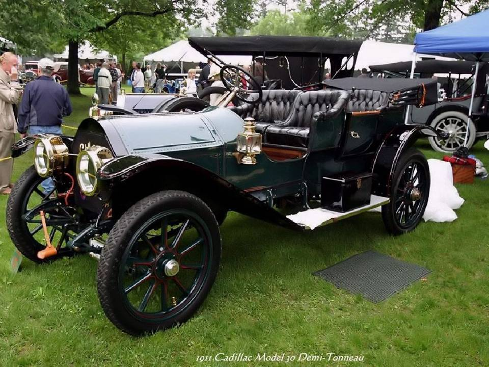 05 - 1911 Cadillac model 30 Demi Tonneau