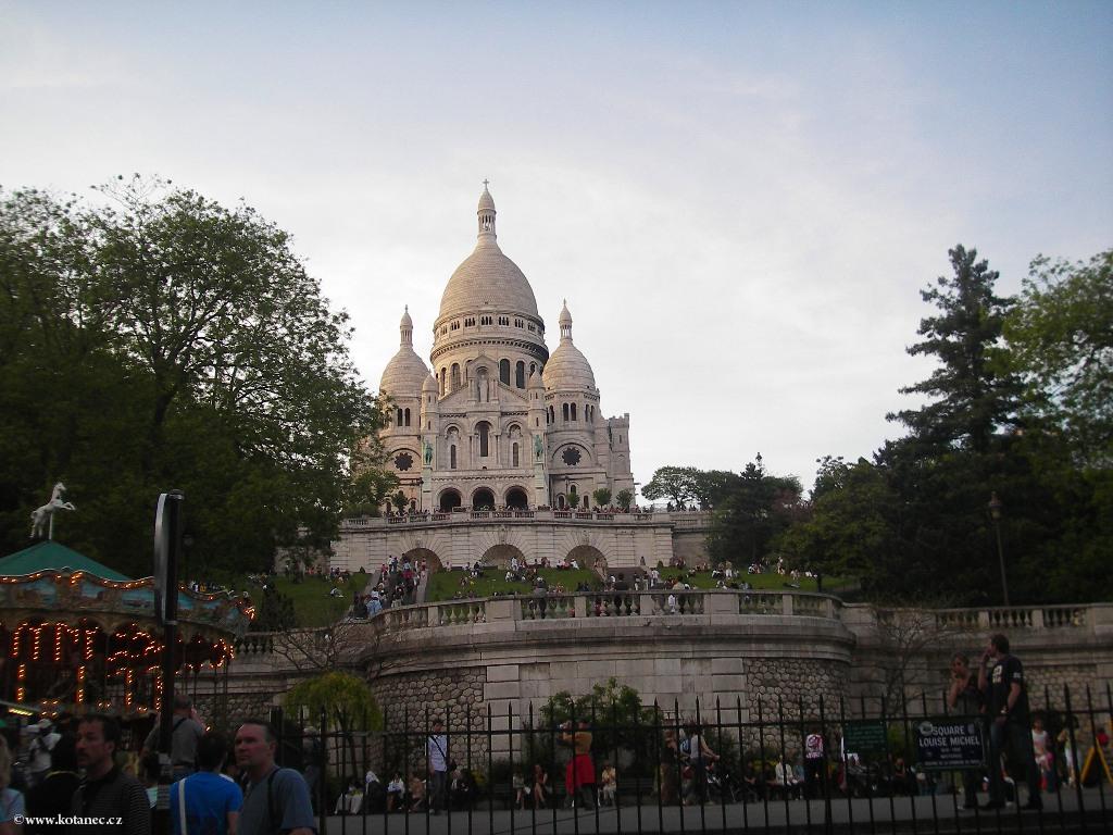 060 Paris - Sacré Couer - Paříž