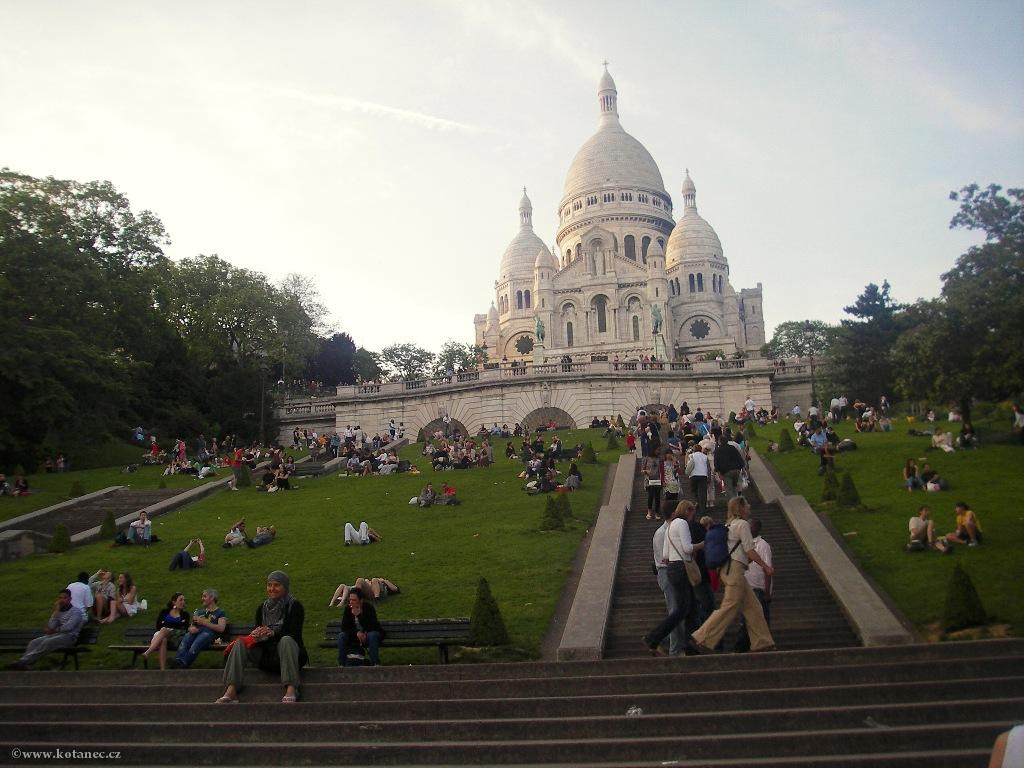 061 Paris - Sacré Couer - Paříž