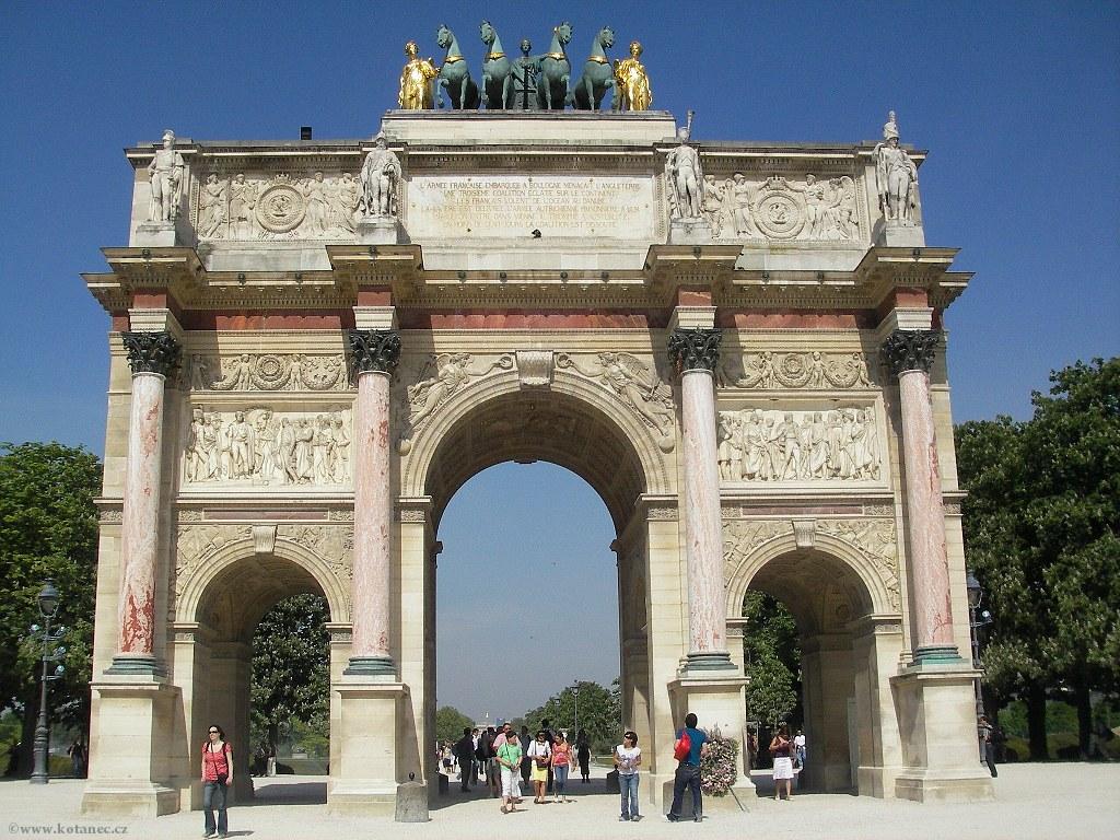 064 Paris - Arc de Triomphe - Paříž