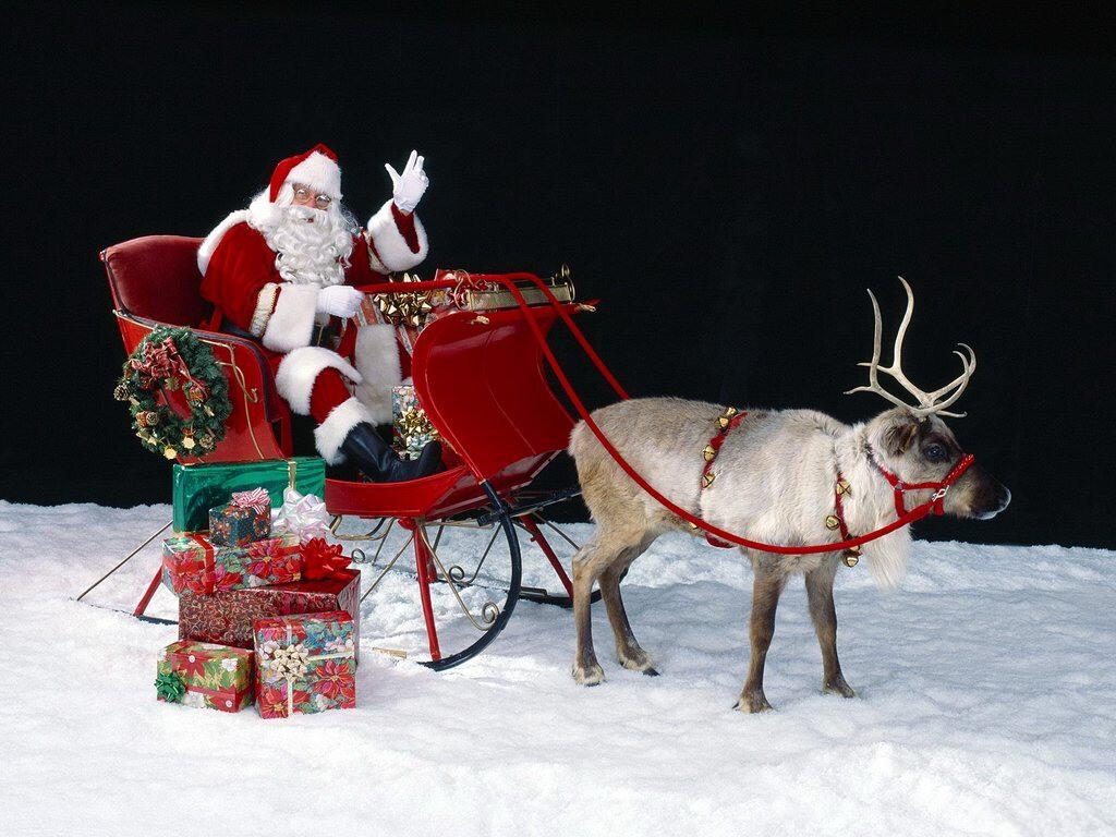 066 vánoční krajina - Christmas landscape