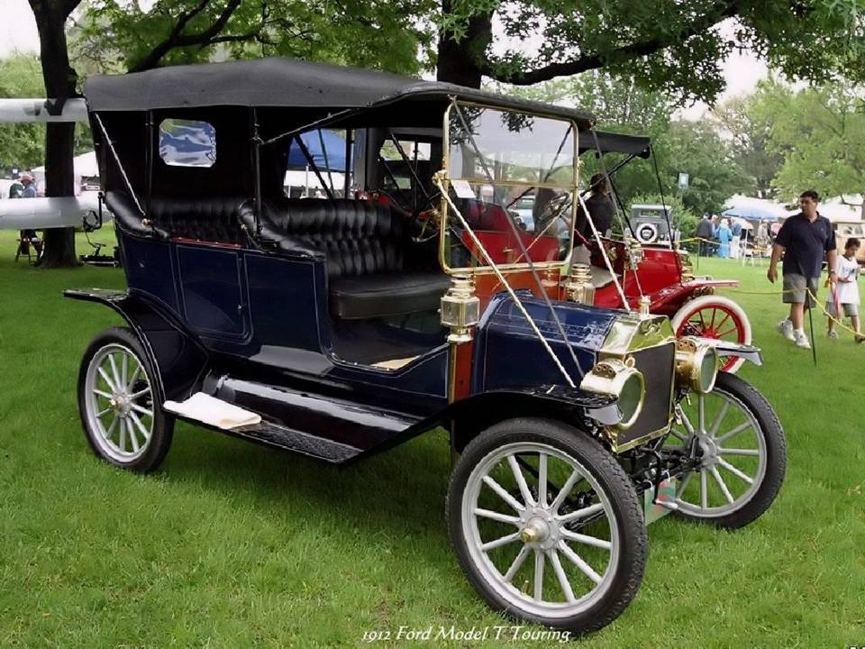 06 - 1912 Ford Model T Touring