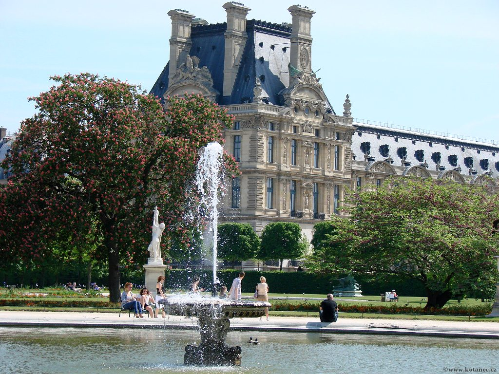 070 - Paris - Jardin des Tuileries - Paříž