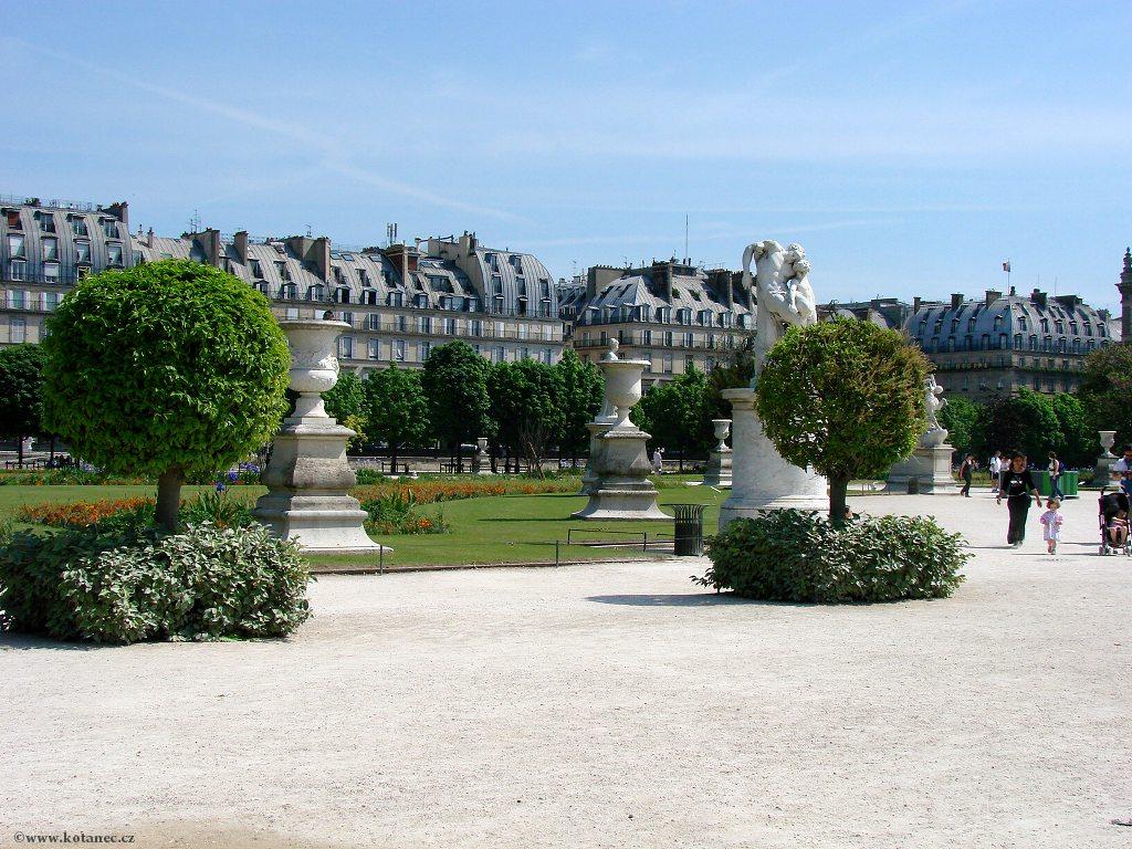071 - Paris - Jardin des Tuileries - Paříž