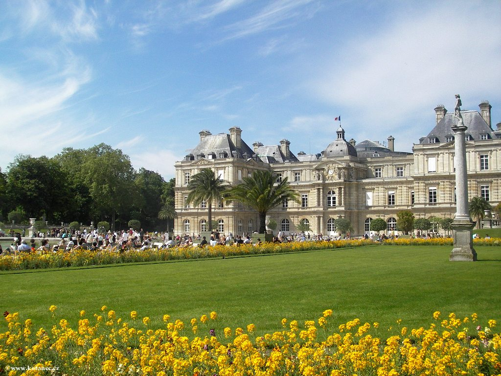 073 - Paris - Jardin des Tuileries - Paříž