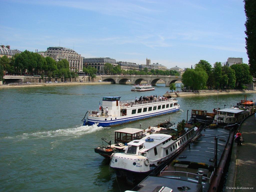 078 - Paris - Seine - Paříž