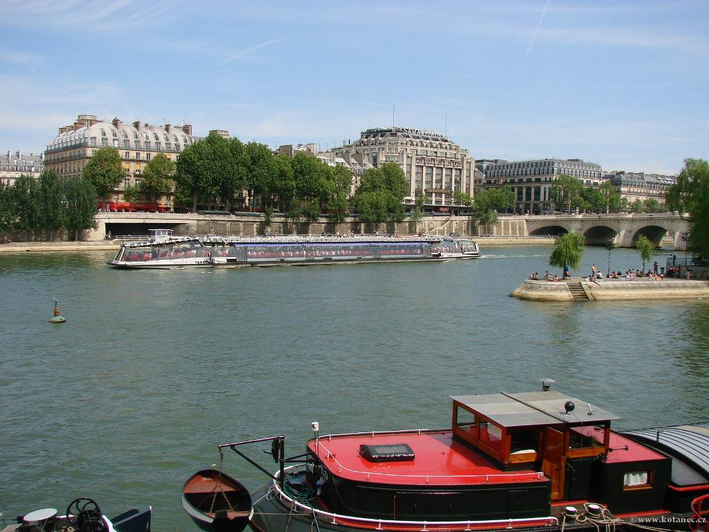 079 - Paris - Seine - Paříž