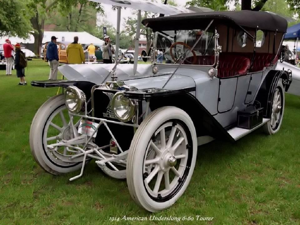 07 - 1914 American Underslung 6-60 Tourer