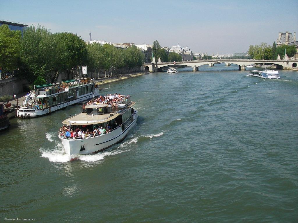 080 - Paris - Seine - Paříž