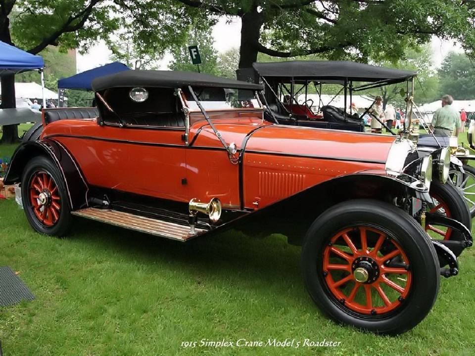 09 - 1915 Simplex Crane Model s Roadster