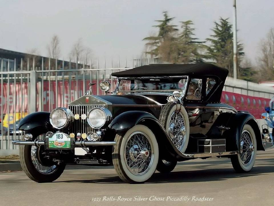 10 - 1923 Rolls-Royce Silver Chost Picadilly Roadster