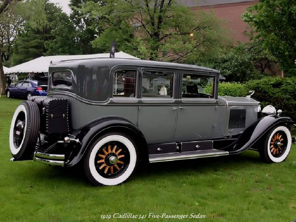 14 - 1929 Cadillac 341 Five-Passenger Sedan