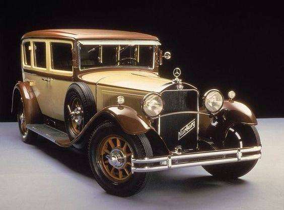 21 - 1928 First Series W8 Mercedes Benz