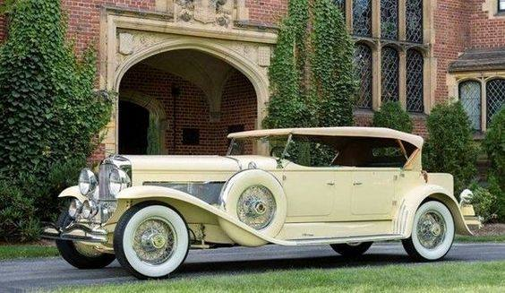25 - 1931 Duesenberg Model J Tourster by Derham