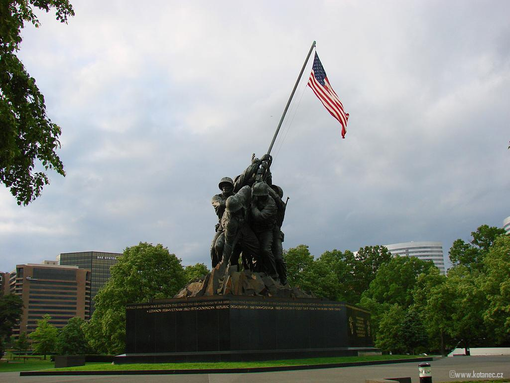 27 Washington - Iwo Jima Memorial