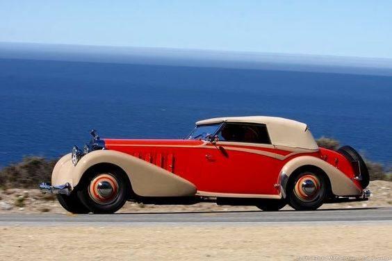 29 - 1934 Hispano Suiza J12 Van Vooren Cabriolet