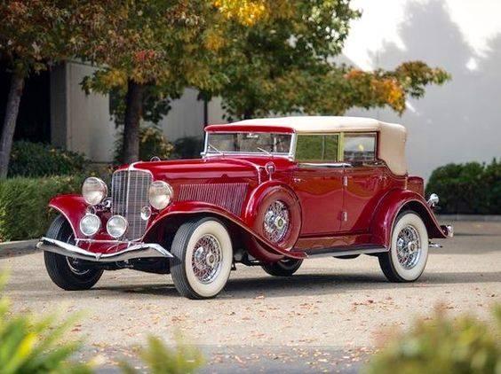 30 - 1934 Auburn 12 Salon Phaeton