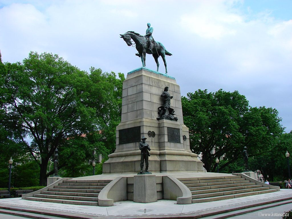 31 Washington - Sherman Monument