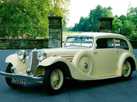 32 - 1935 Jaguar Airline Sedan