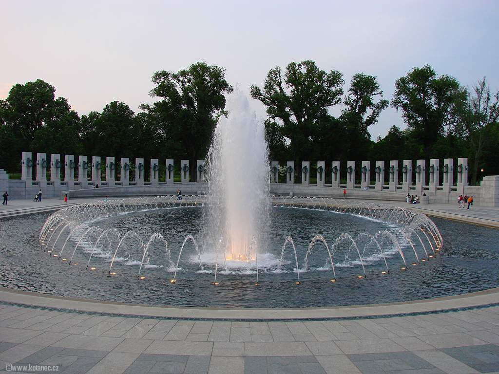 40 Washington - World War II. Memorial