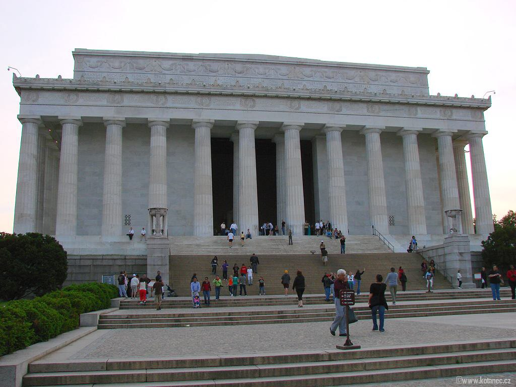 45 Washington - Lincoln Memorial