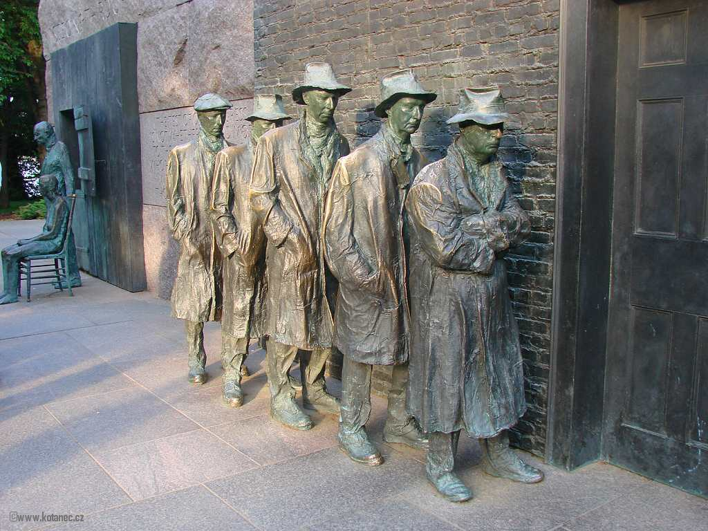 47 Washington - Franklin Delano Roosevelt Memorial