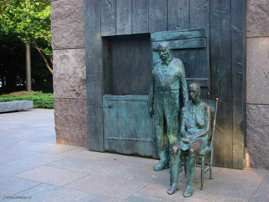 48 Washington - Franklin Delano Roosevelt Memorial