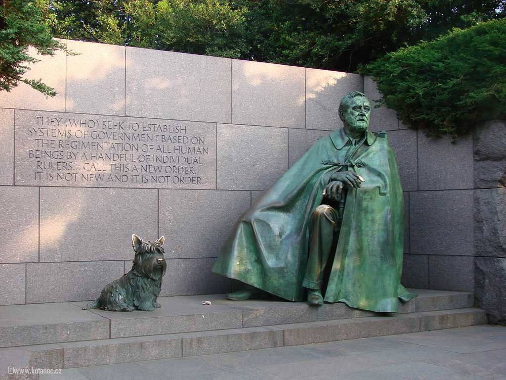 50 Washington - Franklin Delano Roosevelt Memorial