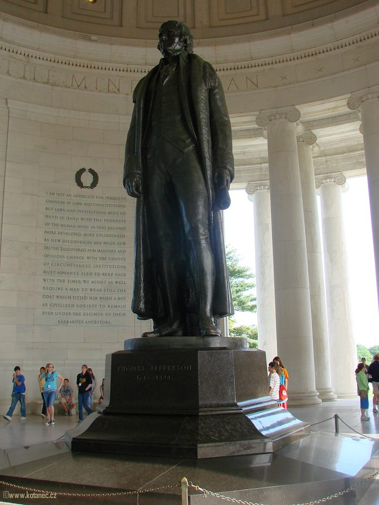 52 Washington - Thomas Jefferson Statue