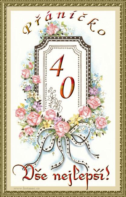 přání k 40 narozeninám 004 animace