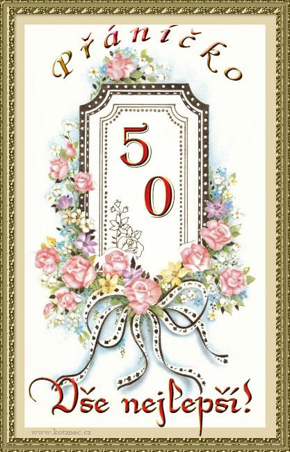 přání k 50 narozeninám 006 animace